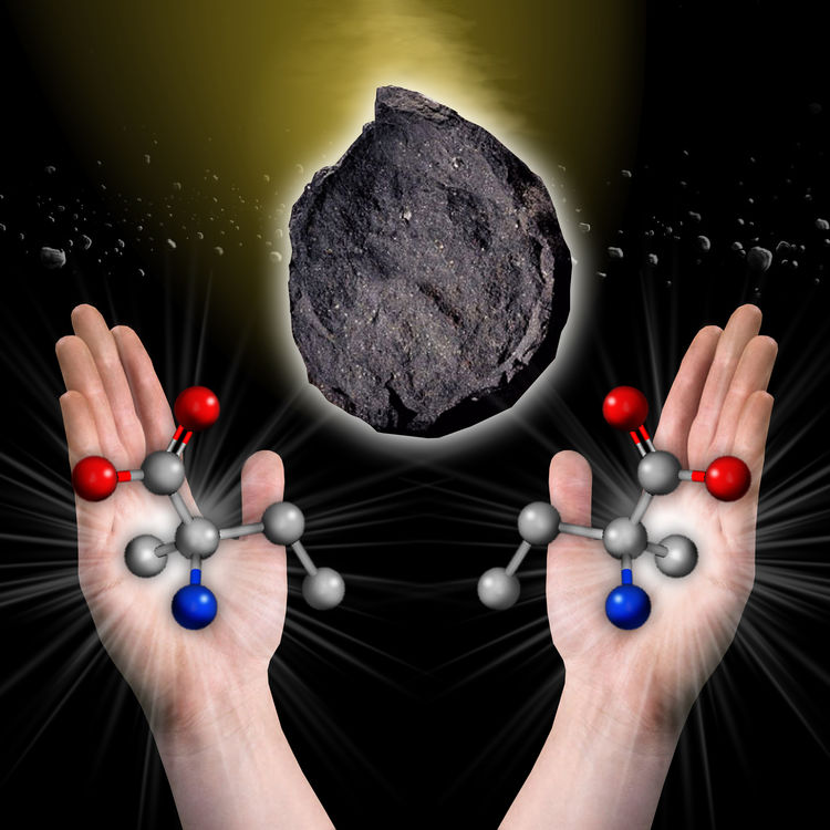 "Researchers at NASA think asteroids might hold clues as to why life only uses ""left-handed"" amino acids. [5]"
