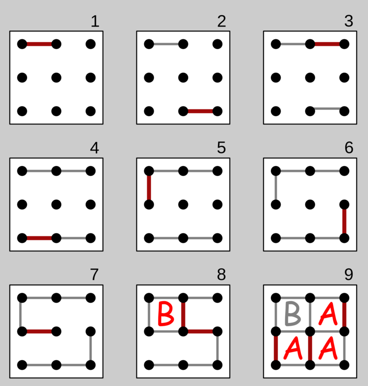 3x3 grid gameplay