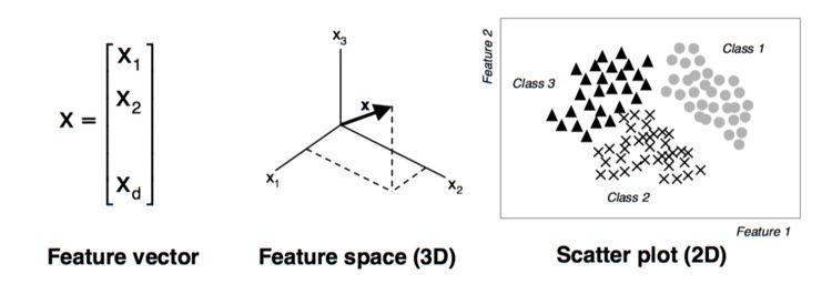 The basics of feature vectors
