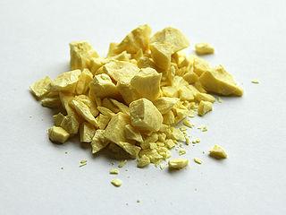 A typical Non-metal: Sulphur[3]
