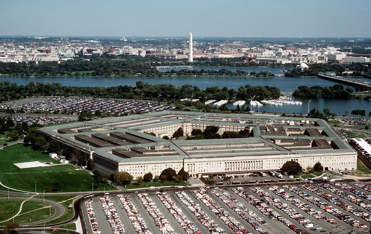 The US Department of Defense's Pentagon is a right pentagon.
