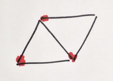 2 triangles