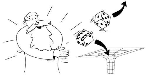 God's dice