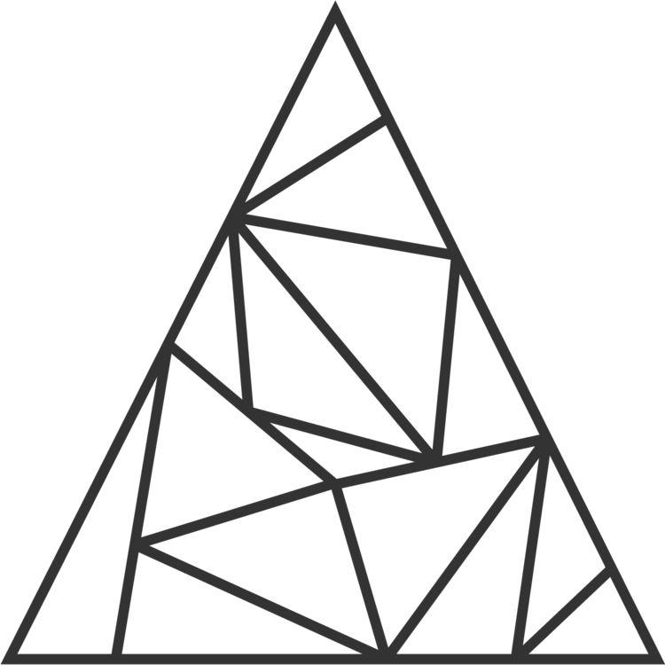 A triangulation of a 2-simplex