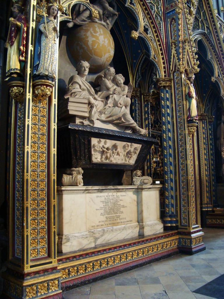 Newton's Sarcophagus