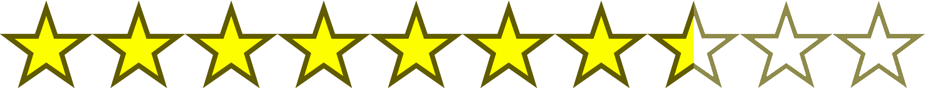 Image result for 7.5 out of 10 stars