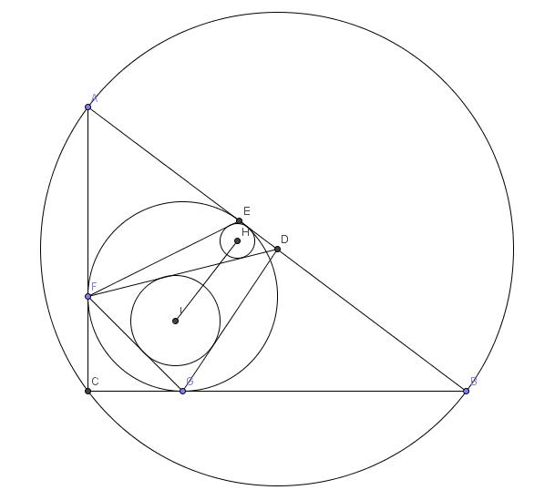 Geometry Problem On Euclidean Geometry