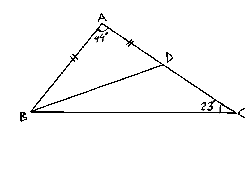 geometry problem  the measure