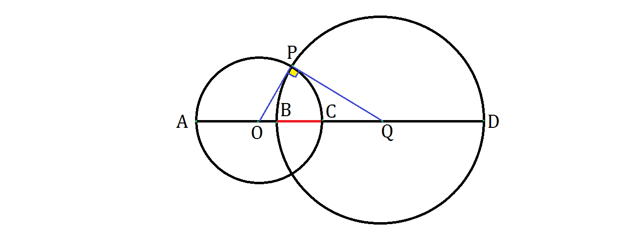 Geometry Problem on Tangent-Chord Theorem: Orthogonal Circles ...